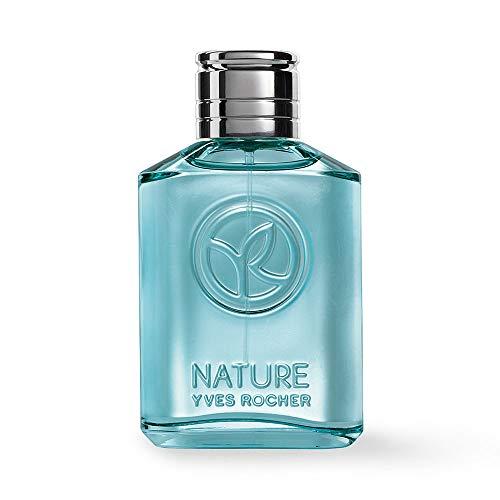 Yves Rocher NATURE Eau de Toilette Guajakholz & Wacholderbeere, Parfüm für Herren, holzig & frisch, 1 x Zerstäuber 75 ml