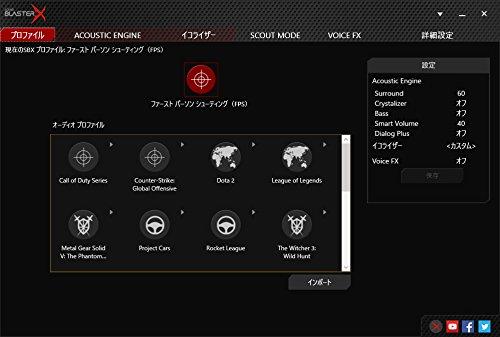 CreativeSoundBlasterXG1ポータブルゲーミングUSBオーディオハイレゾ対応WindowsMacPS4SBX-G1