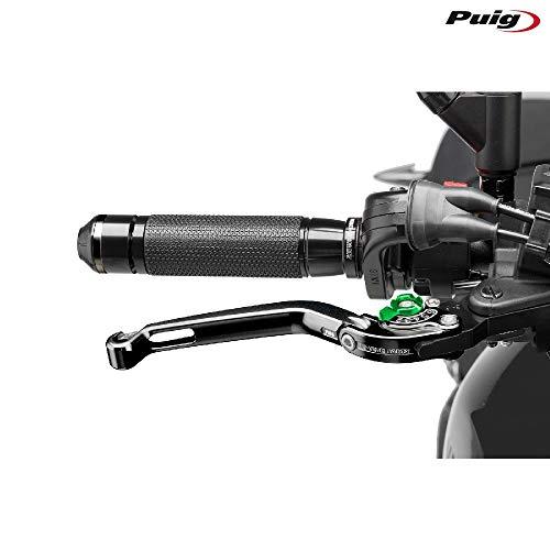 Puig 160NV 2.0faltbar Bremshebel mit Grün Selector, Schwarz
