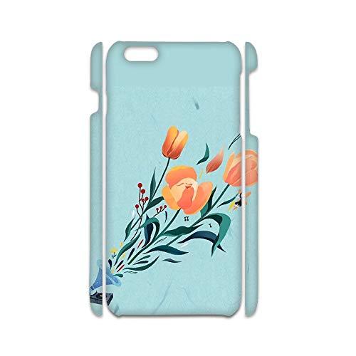 para Hombre Usar como iPhone 7 P/ 8 P Personalizado Plásticos De Concha Diseño Flower 1 Choose Design 119-5