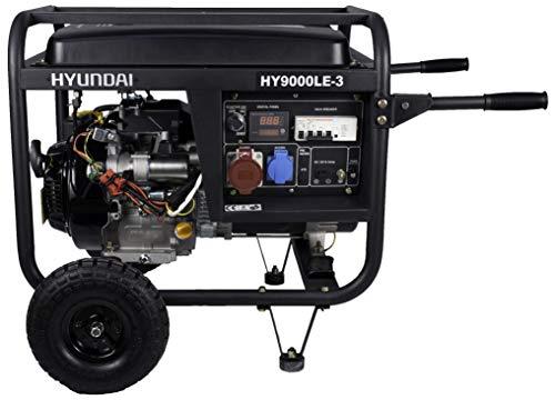 Hyundai HY-HY9000LEK-3R Generador Gasolina (Trifásico)