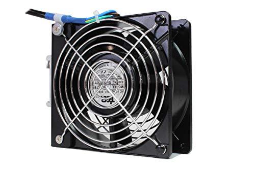 Ventilator voor schakelkast montage met TS35 clip 1202x38mm 230V AC voorbedraad