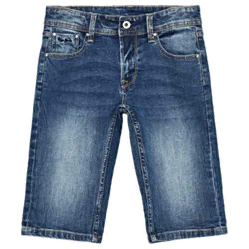 Pepe Jeans Jungen Becket Short Badeshorts, Blau (000denim 000), 6-7 Jahre (Herstellergröße: 6)