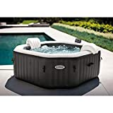 Intex 79' X 28' PureSpa Jet and Bubble Deluxe Inflatable Spa Set, 4-Person 28457E