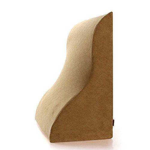 ZWL Coussin Triangle, oreiller créatif canapé oreiller de cou Big coussin de chevet dossier de chaise de bureau Coussin lit oreiller protection du cou taille dossier 63 * 49 * 33cm mode z ( Couleur : #6 )