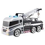 Teamsterz Carro di Traino della Polizia Leggero e sonoro, 1416396