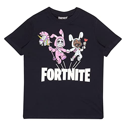 Fortnite Bunny Trouble Boys T-Shirt Navy 14-15 Years   PS4 PS5 Xbox PC...