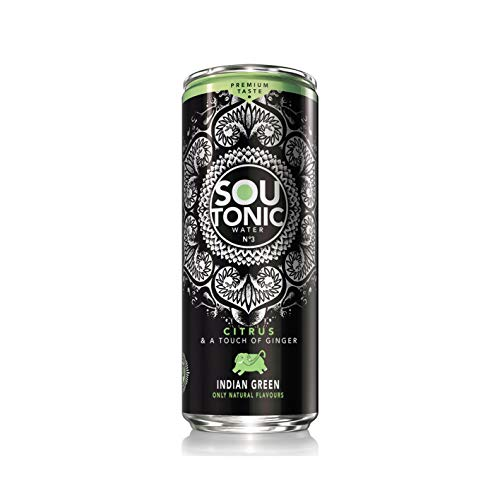 Sou Tonic Citrus & Touch of Ginger - 33cl (Natural Quinine) [Pack of 24]