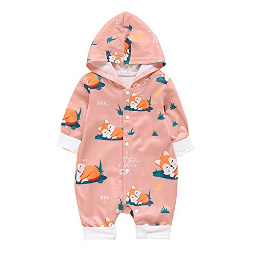 Baby- und Kleinkinder Softshellanzug, Walkanzug Baby- Walk Baby Overall, Babyoverall aus Walkwolle, Walkoverall mit Kapuze (3M-18M)