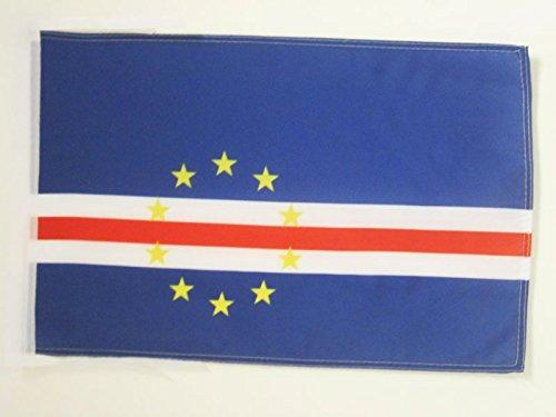 AZ FLAG Drapeau Cap Vert 45x30cm - PAVILLON Cap-verdien 30 x 45 cm Haute qualité