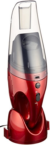 充電式ウエット&ドライハンディクリーナー 6V メタリックレッド FC-830