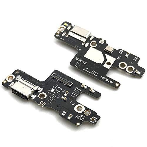Compatible con Xiaomi Redmi Note 7 / Pro / 7S M1901F7 Flat Flex sub Board Dock Micro USB Jack Puerto de entrada USB para conector cable de carga + micrófono Sync datos