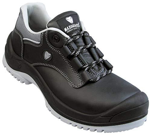 Maxguard E320 lage schoen S3 zwart-grijs