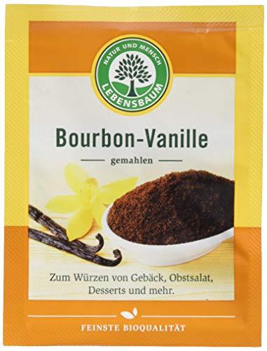 Lebensbaum Bourbon-Vanille, gemahlen, 5 g