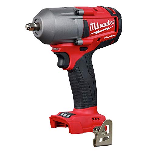 MILWAUKEE'S 2852-20 M18 Fuel 18-Volt Lithium-Ion Brushless Cordless Mid Torque 3/8 in. Impact Wrench with Friction Ring...
