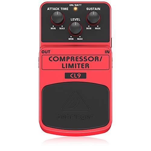 ベリンガー ギター用エフェクトペダル コンプレッサー/リミッター CL9 COMPRESSOR/LIMITER Oragne