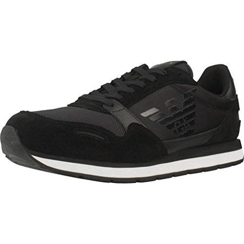 Emporio Armani Runner Herren Sneaker Schwarz