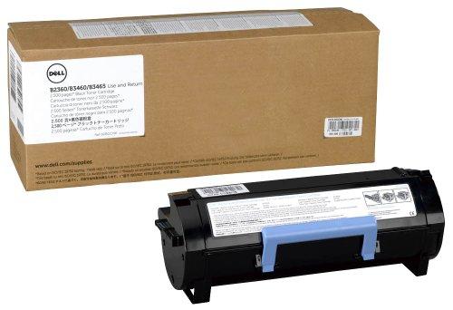 Dell B2360d & dn/B3460dn/B3460dnf Standrad Capacity Black Toner - Use & Return, Kit ca. 2.500 Seiten