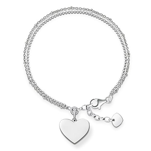 THOMAS SABO Damen Armband Herz 925er Sterlingsilber LBA0102-001-12