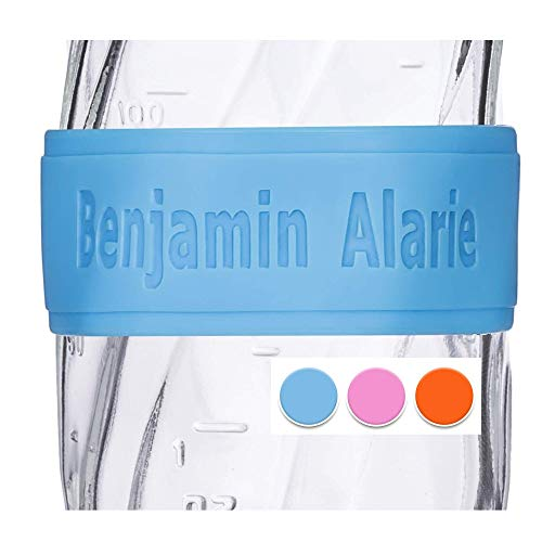 Review Of Custom Baby Bottle Labels for Daycare Blue Pink or Orange 4 Pack Sippy Cup Labels Personal...