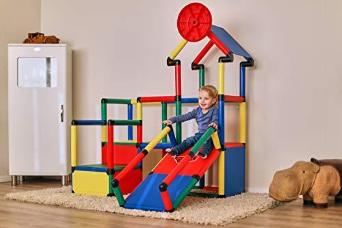 Quadro | Evolution | Klettergerüst für drinnen und draußen | Fördert Entwicklung von Kindern | Beliebig modular & erweiterbar | 6 Jahre Garantie | Ab 6 Monate bis 4 Jahren