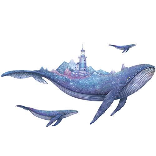 TAOYUE onderwater wereldwal koraal wandsticker voor kinderkamer badkamer wooncultuur aquarel vinyl behang sticker decor