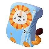 Almohada para La Siesta Almohada Pausa para El Almuerzo De Los Niños Espuma De Memoria Lavable Artefacto De La Siesta (Color : Blue, Size : 9.4 * 4.3 * 12.6inch)