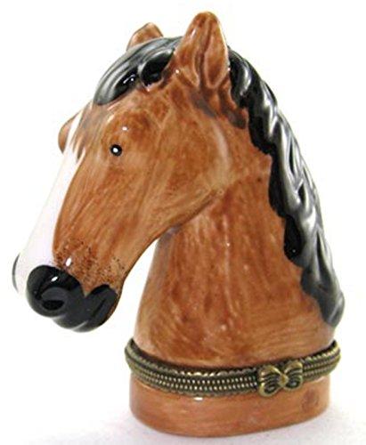 Art Gifts Pferd Reitsport Pony Ponys Lover Schmuckkästchen biokompatibel