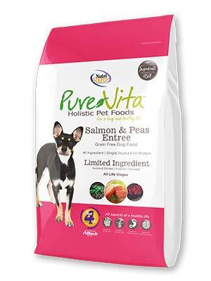 TUFFY'S PET FOOD 131646 Tuffy Pure Vita Grain Free Salmon and Sweet Potato Food for Dogs, 15-Pound
