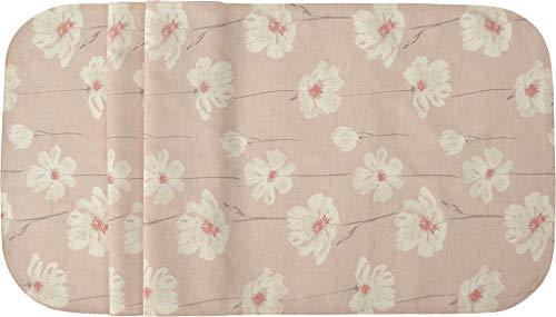 Sander abwischbare, fleckversiegelte Tischdecke Bistro Fleur, 135x170 cm, Farbe 05- rosa