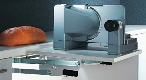 Gedotec Parallel-Schwenkbeschlag für Küchen-Schränke & Möbel | Drehbeschlag zum Schrauben unter den Oberboden | Parallel-Schwenkmechanik mit 8 kg Tragkraft | 1 Garnitur - Klappenbeschlag mit Schrauben