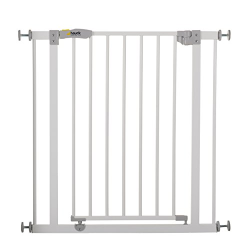 Hauck Open N Stop Türschutzgitter/Treppengitter, 75-80cm ohne Bohren, erweiterbar mit...
