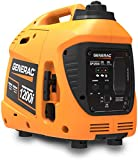 Generac 76711 GP1200i 1200 Watt Portable Inverter Generator, Orange and Black