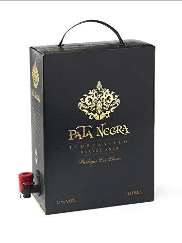 Pata Negra Tempranillo Premium - Vino Tinto D.O. Valdepeñas - Bag in Box de 3 Litros