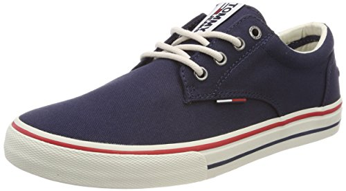 Tommy Hilfiger Tommy Jeans Textile Sneaker, Zapatillas para Hombre