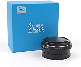 Pixco Pro Focusing Infinity Focal Reducer Speed Booster with Optical Glass Lens Adapter for Canon FD FL to Sony E Mount NE...