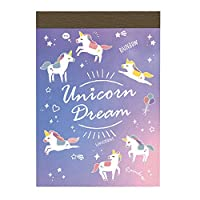 DREAM DAYS Sweet Dream A7サイズ メモ帳【ユニコーン】かわいい コンパクト