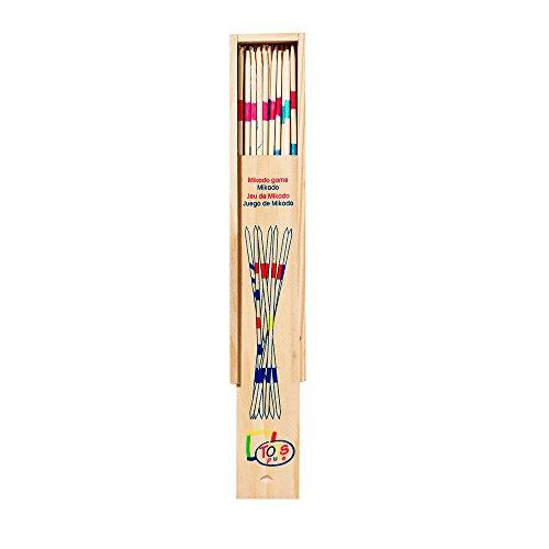 Juego de Mikado, pequeño en caja de madera , color/modelo surtido