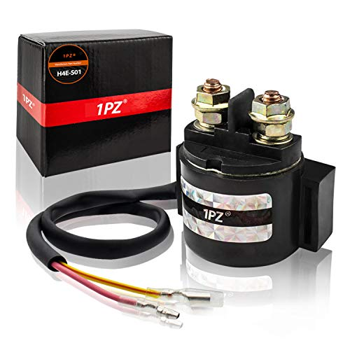 1PZ H4E-S01 Premium Ignition Starter Magnetic Solenoid Relay for Honda Sportrax TRX400EX TRX400X 1999 2000 2001 2002 2003 2004 2005 2006 2007 2008 2009 2012 2013 2014
