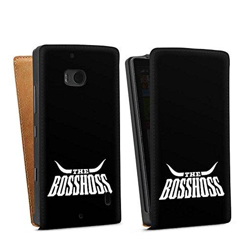 DeinDesign Nokia Lumia 930 Tasche Hülle Flip Case The BossHoss Fanartikel Merchandise
