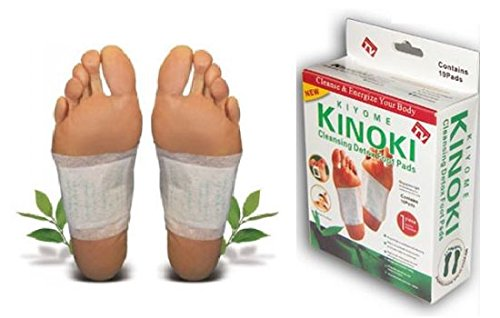 10-200 Stück Kinoki Entgiftende Pflaster Detox Vitalpflaster Fusspflaster (100)