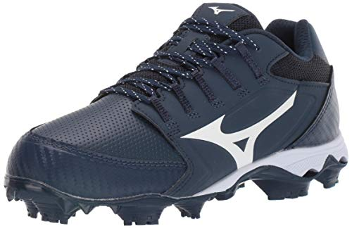 Mizuno Softball Footwear Womens TPU Molded Softball Cleat, 9