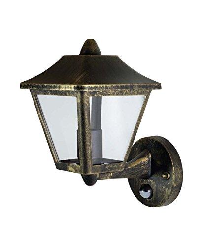 Osram LED Wand- und Deckenleuchte, Leuchte für Außenanwendungen, Sockel E27, Integrierter Tageslicht- und Bewegungssensor, Endura Classic Trad Up Sens