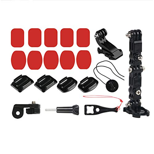 Liamostee Action Camera Stand Motorcycle Helmet Chin Mount Stand for Gopro