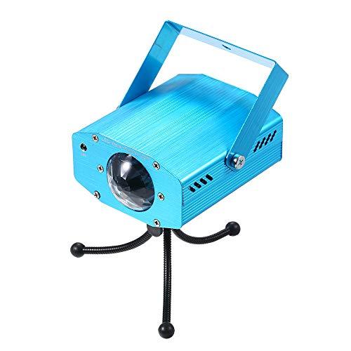 Lixada LED Discokugel RGB Mini Disco Licht Party Licht Lichteffekte AC110-240V 5W Sound aktiviert mit Fernbedienung für KTV Xmas Party