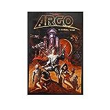 ZAINALI Filmposter Argo-Poster, dekoratives Gemälde,