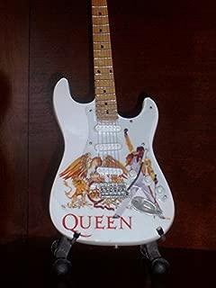 Mini Guitar QUEEN FREDDIE MERCURY Display GIFT