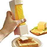 Butter Slicer,One Click Stick Butter Cutter,Cheese Splitter, Butter for Making Bread, Cakes,Cookies,Bread