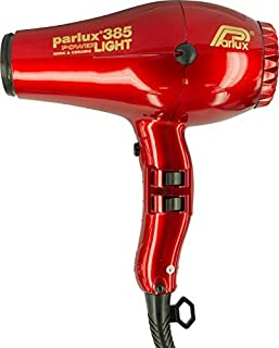 Parlux 385 PowerLight Ionic and Ceramic Hair Dryer - Red