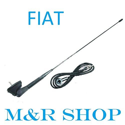 FIAT–Base per antenna con antenna e guarnizione